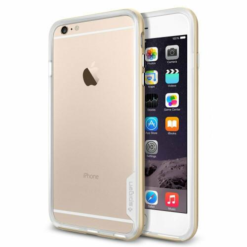 Champagne gold For iPhone 6 Plus Case, Spigen Neo Hybrid EX Premium Shockproof Bumper Cover