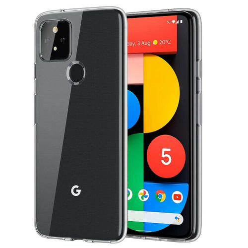 Ultra Slim Transparent Clear Gel Case Cover For Google Pixel 5