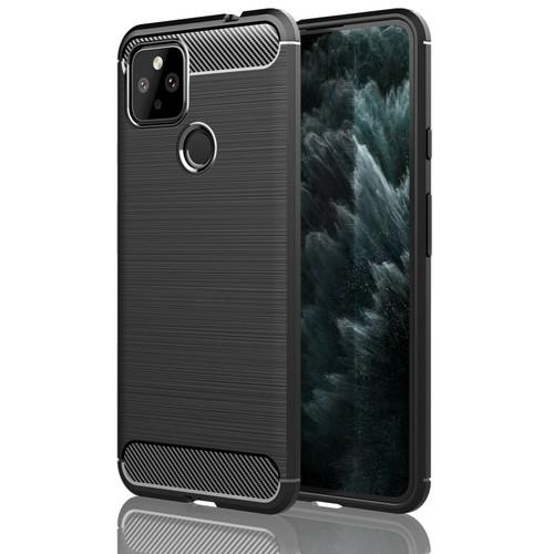 Premium Carbon Fibre Shockproof Case Cover for Google Pixel 5