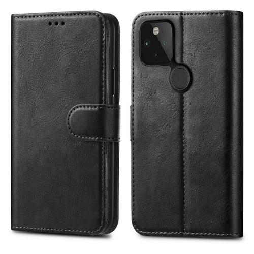 For Google Pixel 5 Leather Flip Case Wallet Cover