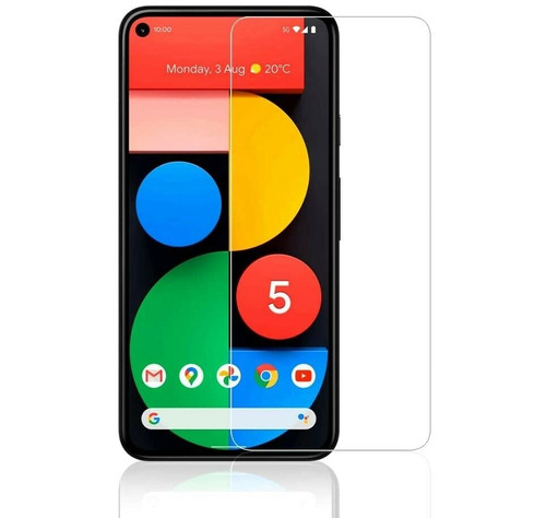 For Google Pixel 5 Tempered Glass Screen Protector Case Friendly