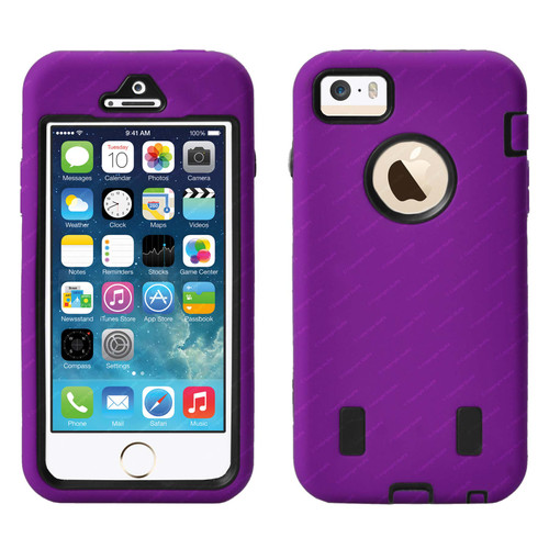 Defender Cover Case for iPhone 5/5S - Purple