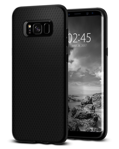 Galaxy S10 Plus Case Spigen Liquid Air Cover - Black
