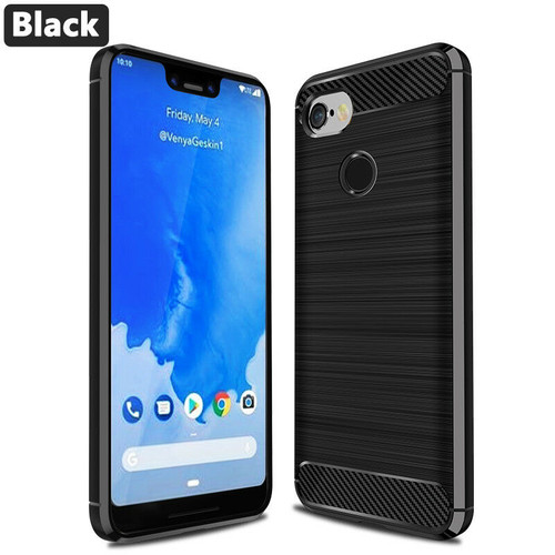 Google Pixel 3a Black Silicon Cover