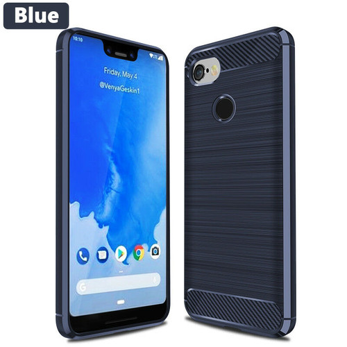 Google Pixel 3a Blue Silicon Cover