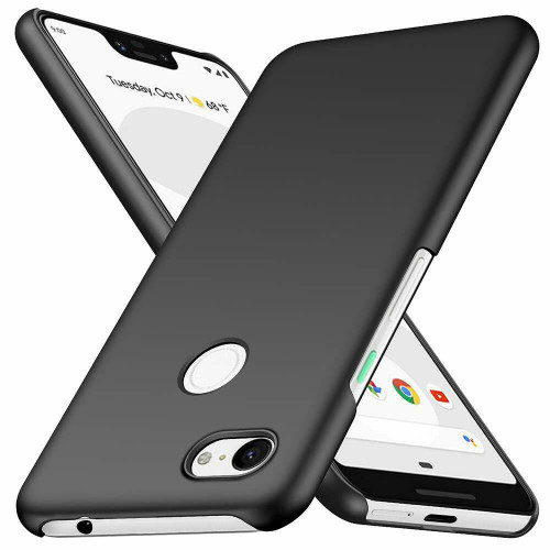 Google Pixel 3a Matte Black Hard Back Case
