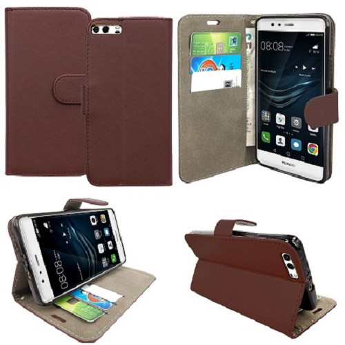 Huawei  P20 Pro  Pu Leather Brown Stand Case