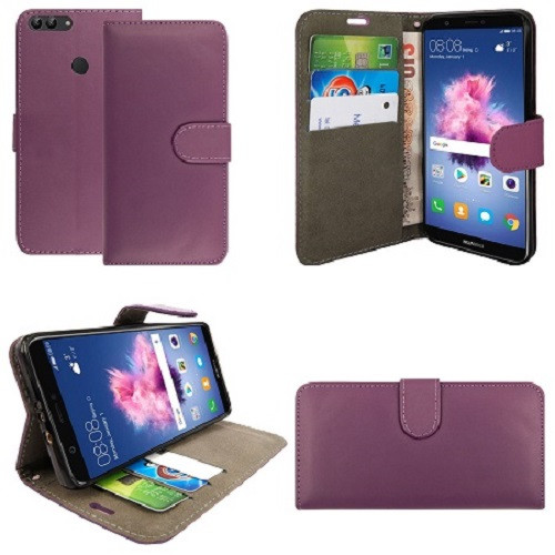 Huawei  P20 Pro  Pu Leather Purple Stand Case