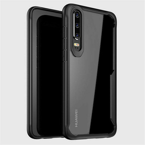Huawei P30 Pro Black Hybrid Shockproof Protective Cover