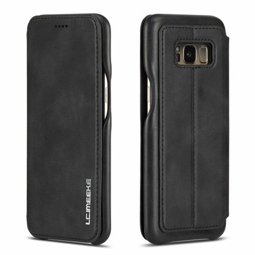 Huawei P30 Pro Black Vintage Leather Wallet Case