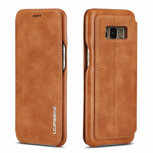 Huawei P30 Pro Brown Vintage Leather Wallet Case
