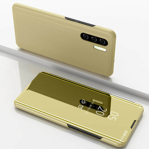 Huawei P30 Pro Gold Mirror View Flip Case Cover