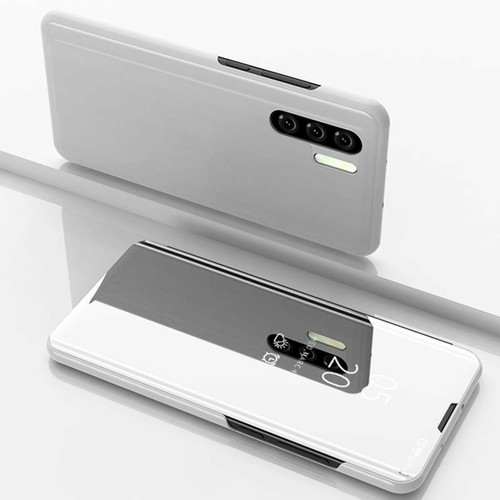 Huawei P30 Pro Silver Mirror View Flip Case Cover