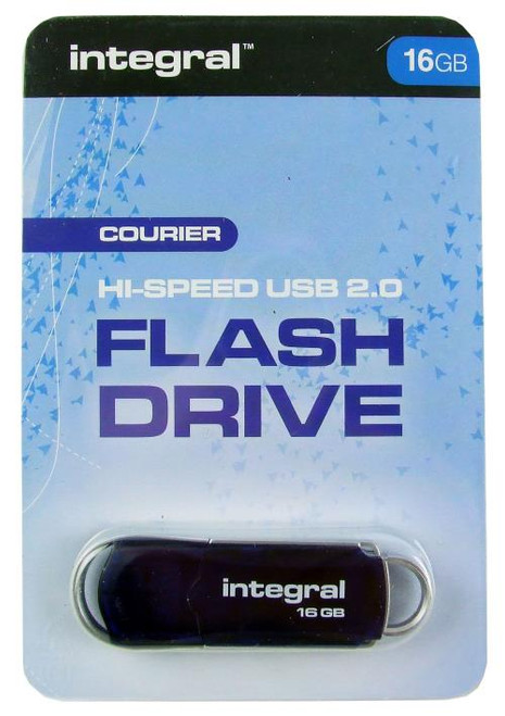 Integral Courier Hi Speed USB 2.0 Flash Drive 16GB