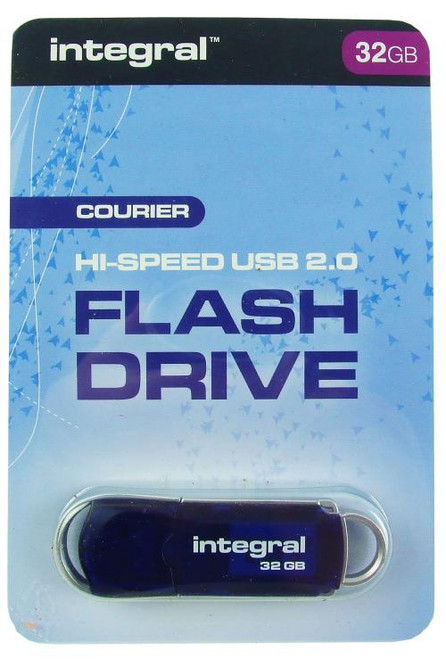 Integral Courier Hi Speed USB 2.0 Flash Drive 32GB