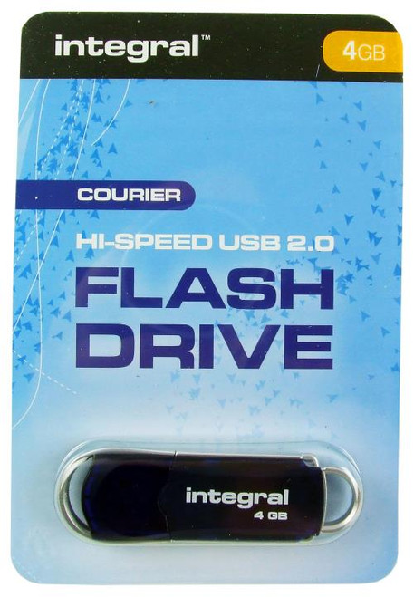 Integral Courier Hi Speed USB 2.0 Flash Drive 4GB