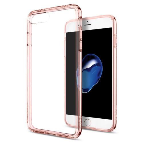 iPhone 7 Plus Case, Spigen Ultra Hybrid Series Rose Crystal Cases