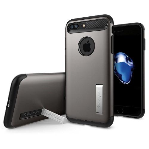 iPhone 7 Plus Spigen Case Slim Armor Gunmetal