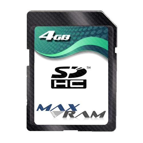 MaxRam 4 GB SDHC Memory Card