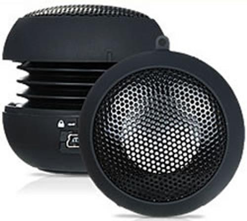 Mini Hi-Fi Portable Rechargable Black Ball Speakers