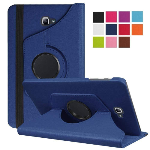 Navy Blue PU Leather 360 Rotating Case for Samsung Galaxy Tab 3 8.0 (T310/T311)