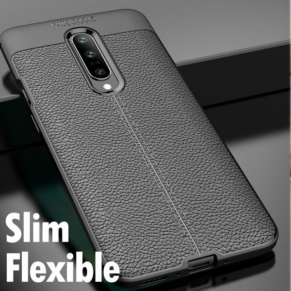 One Plus 7 Pro Black ShockProof Hybrid Case Cover