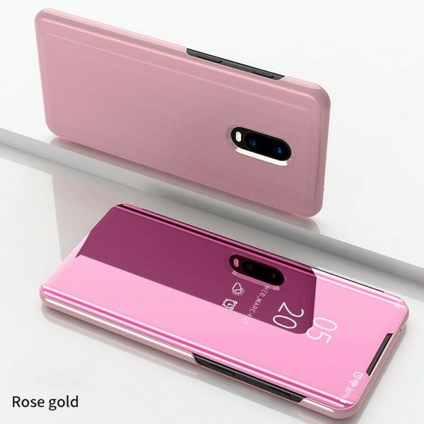 OnePlus 7 Pro Rose Gold Plated Mirror Phone Case