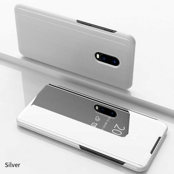 OnePlus 7 Pro Silver Plated Mirror Phone Case