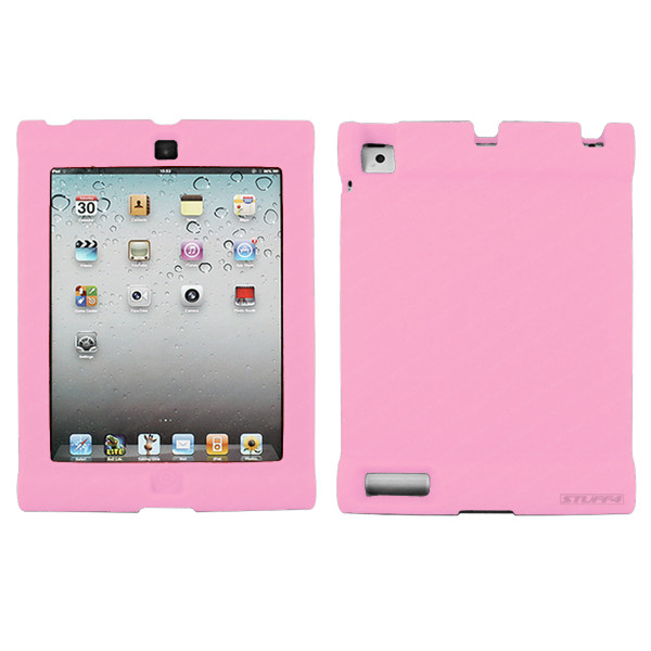 Pink Extra Protection Bumper Easy-Grip Case for iPad 2/3/4