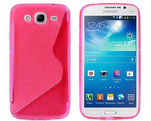 Pink Samsung Galaxy J3 S-Line Soft Silicon Gel Case