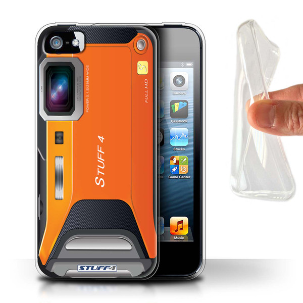 Protective Gel/TPU Case for Apple iPhone 5/5S / Camera Collection / Sports