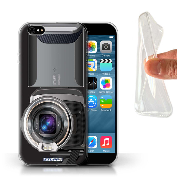 Protective Gel/TPU Case for Apple iPhone 6/6S / Camera Collection / Video Camcorder