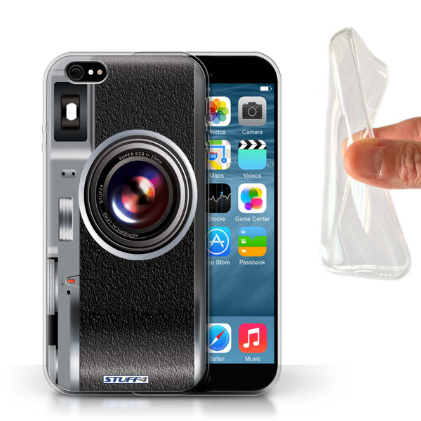 Protective Gel/TPU Case for Apple iPhone 6/6S / Camera Collection / Vintage