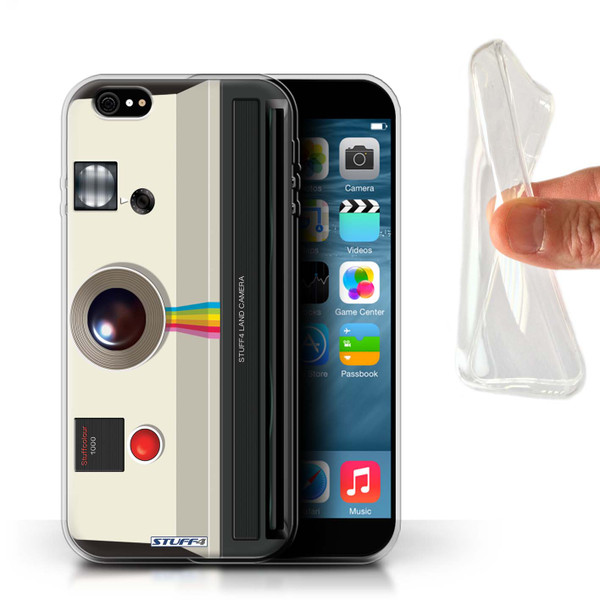 Protective Gel/TPU Case for iPhone 6+/Plus 5.5 / Camera Collection / Instant Retro