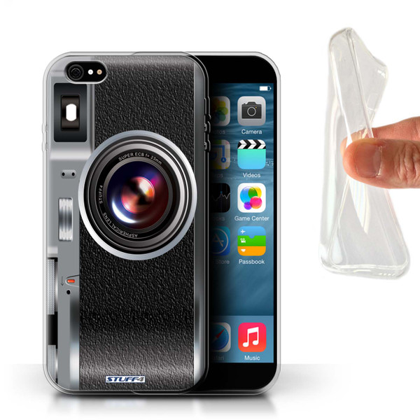 Protective Gel/TPU Case for iPhone 6+/Plus 5.5 / Camera Collection / Vintage