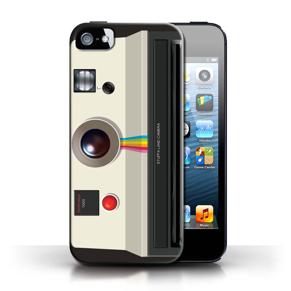 Protective Hard Back Case for Apple iPhone 5/5S / Camera Collection / Instant Retro