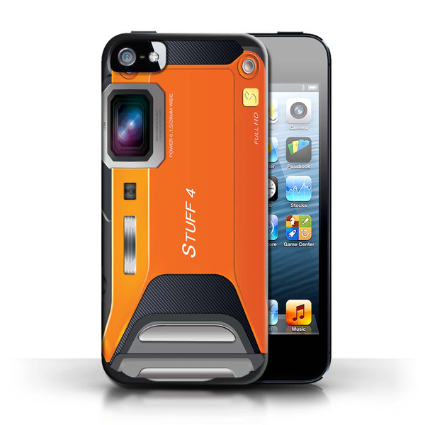 Protective Hard Back Case for Apple iPhone 5/5S / Camera Collection / Sports