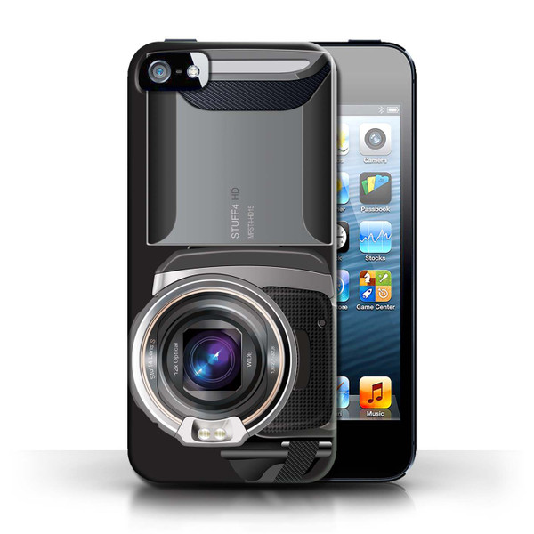 Protective Hard Back Case for Apple iPhone 5/5S / Camera Collection / Video Camcorder