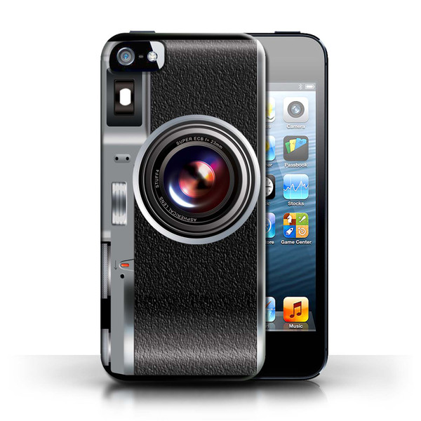 Protective Hard Back Case for Apple iPhone 5/5S / Camera Collection / Vintage