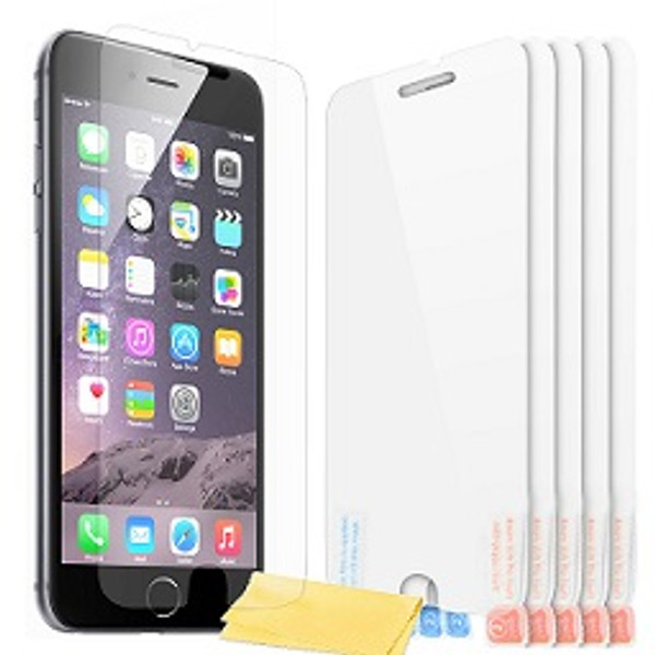 iPhone 5 5s 5c lcd Clear Film Screen Protectors with Cloth