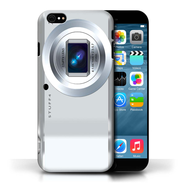 Protective Hard Back Case for Apple iPhone 6/6S / Camera Collection / Compact