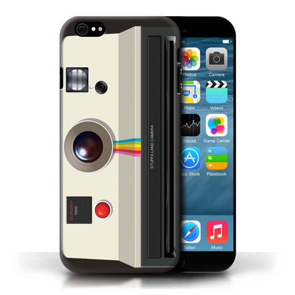 Protective Hard Back Case for Apple iPhone 6/6S / Camera Collection / Instant Retro