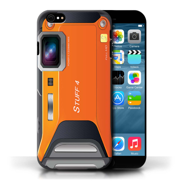 Protective Hard Back Case for Apple iPhone 6/6S / Camera Collection / Sports