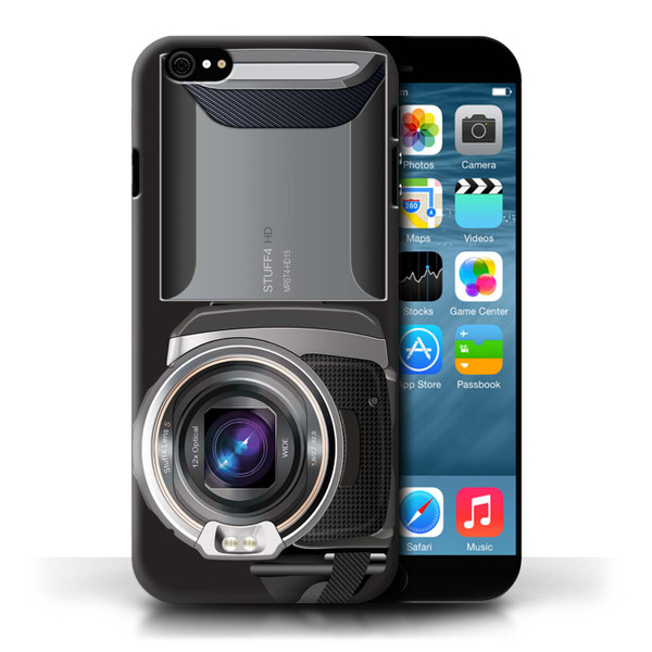 Protective Hard Back Case for Apple iPhone 6/6S / Camera Collection / Video Camcorder