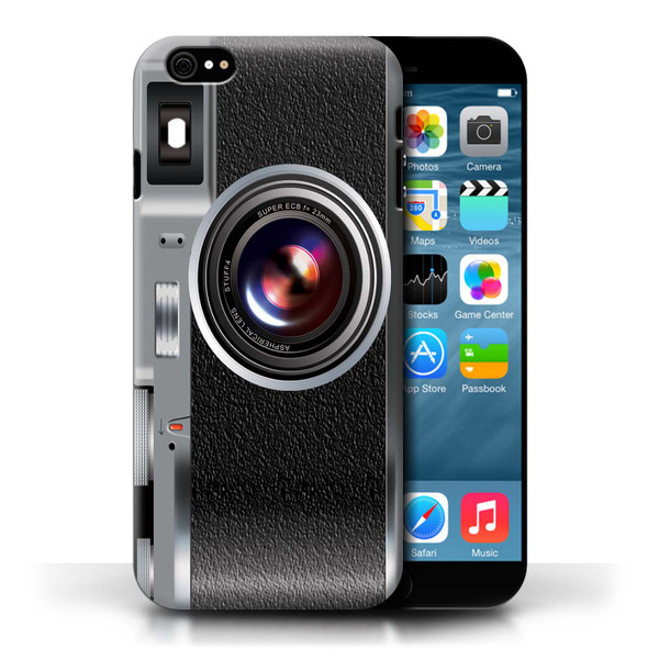 Protective Hard Back Case for Apple iPhone 6/6S / Camera Collection / Vintage