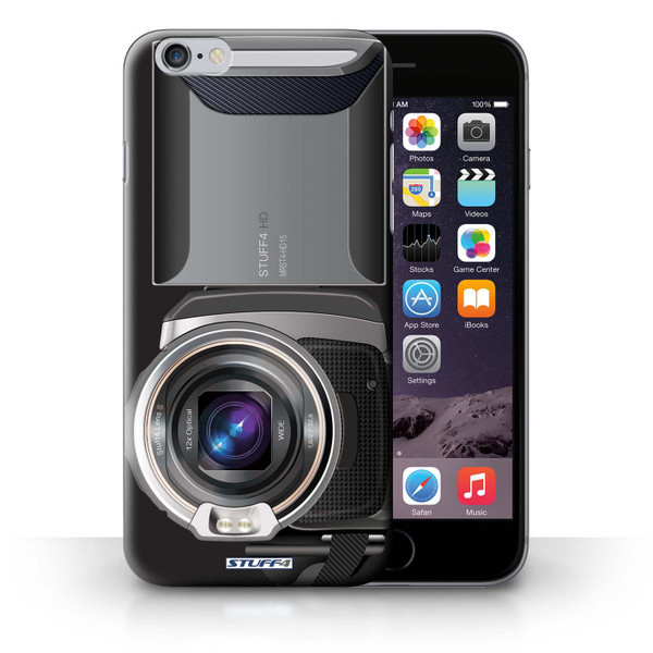 Protective Hard Back Case for iPhone 6+/Plus 5.5' / Camera Collection / Video Camcorder