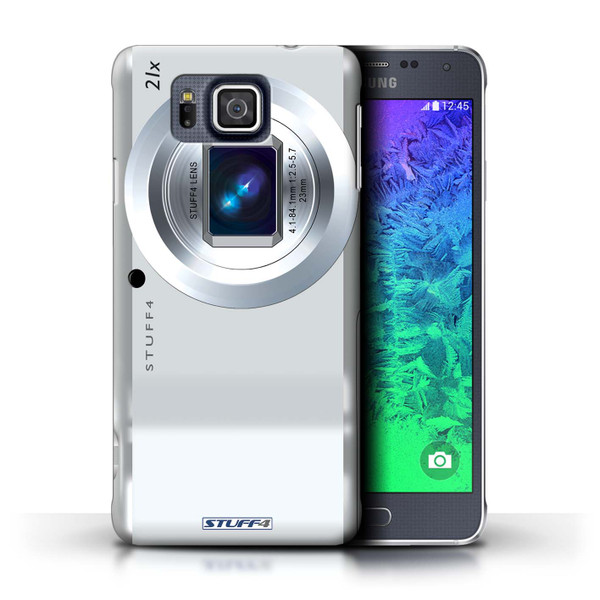 Protective Hard Back Case for Samsung Galaxy Alpha / Camera Collection / Compact
