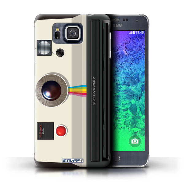 Protective Hard Back Case for Samsung Galaxy Alpha / Camera Collection / Instant Retro