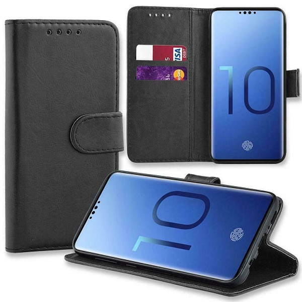 Samsung Galaxy  S10 Leather Stand Flip Wallet Smart Case