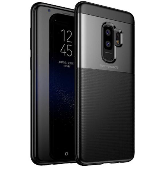 Samsung Galaxy  S9  Luxury 360 Shockproof Hybrid Case Black